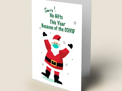 Customized Christmas cards designs - 2020 santaclaus cards graphic artist wishing wish card greetingcard xmas card projects designer christmas flyer christmas christmas card card greeting design drawing colombo illustrator