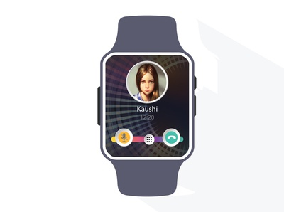 Smartwatch UI Design