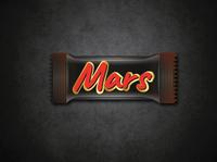 Mars Chocolate wrapper Design