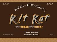 Kit Kat Wrapper Design - My Concept