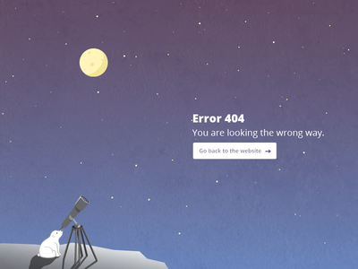 404 error page for extens.io