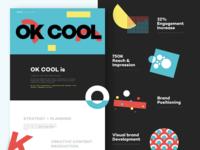 OKCOOL - Landing page