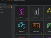Gadget browser