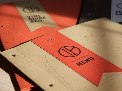 Paper Restaurant Menù paper products identity branding graphic design packaging food restaurant menu