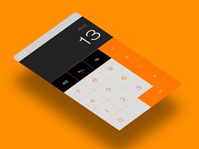 Day 5 of '100 Days of UI' - Calculator