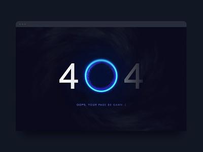 Day 8 of '100 Days of UI' - 404 404 design ui dailyui