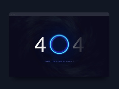 Day 8 of '100 Days of UI' - 404