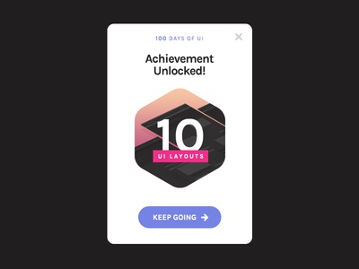 Day 11 of '100 Days of UI' - Flash alert