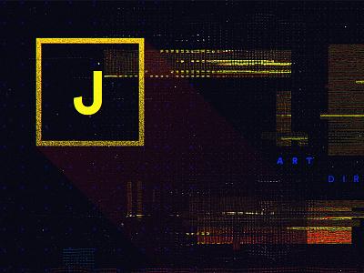 Personal Ident WIP 2 dark glitch logo ident