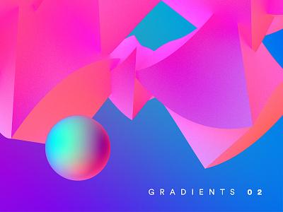 C4D tests with Grads gradients c4d