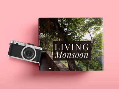 Living Monsoon design publication typography