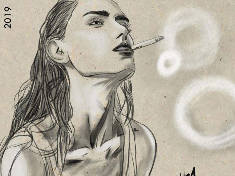 Rings visual storyteller designer inktober artist ink paint illustration