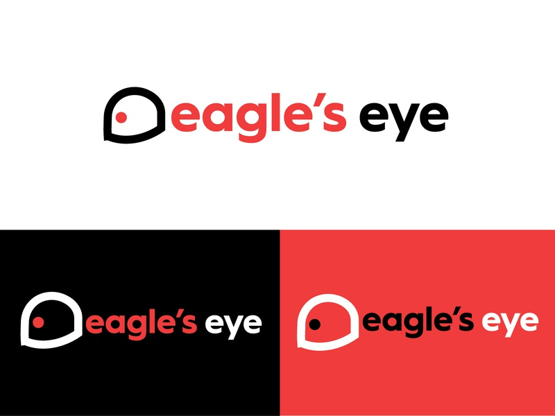 Eagle's eye logo design minimalist logo minimalist icon illustration adobe logo minimal illustrator flat design branding