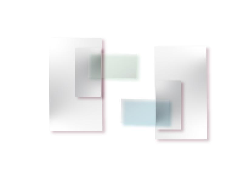 Verging Embrace graphic background geometric art