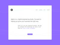 Agilion Marketing Site