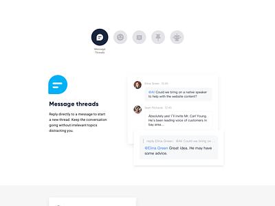 Lark Website ui ux freelance app website minimal ios designer material illustration