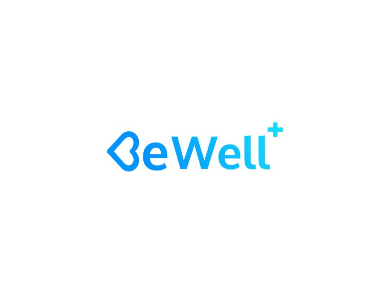Bewell logo logo freelance ux ui branding design app mobile insurance health