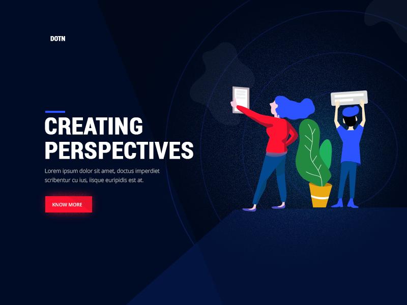 Marketing Agency design mobile app website landing page minimal ux ui uiux illustration freelance designer agency