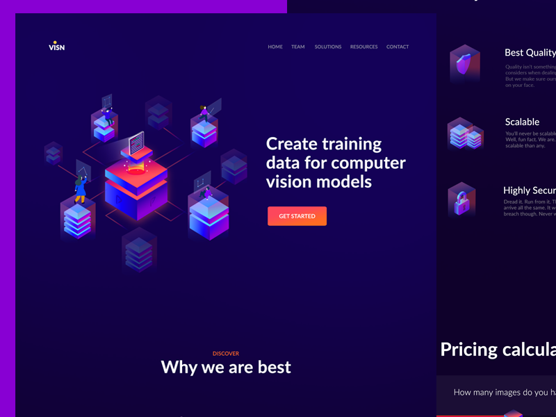 VISN Homepage Design