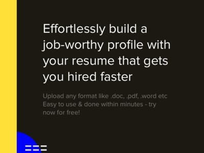 Resumator job board resume webapp tool typography branding app website minimal designer ux ui