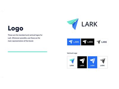 UI Style Guide for Lark styleguide designsystem typography freelance designer ui design logo branding