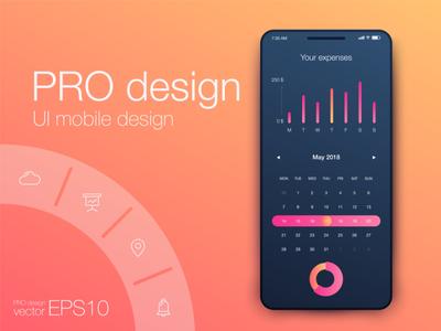 Pro design UI mobile Design