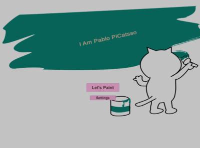 I Am Pablo PiCatsso