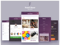 Front-Door Delivery iOS App