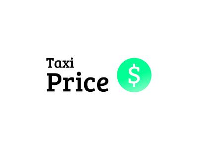 Taxi price car price taxi logo
