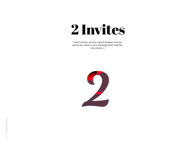 2 dribbble Invites giveaway invite giveaway 2 invites dribbble invite giveaway invite2 invite invitaion dribbble