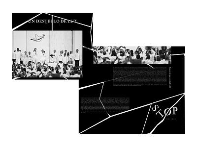 Broken photography broken website ux ui typography design web