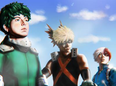 Trinity - My Hero Academia