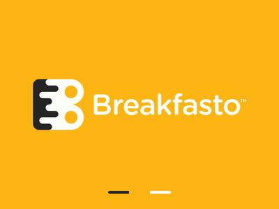 Breakfast B Letter Logo