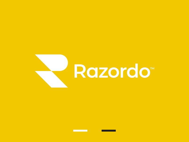 Razor R Letter Logo sharp razor r symbol r letter r logo branding gennady savinov logo design minimalistic logo symmetric modern minimalistic logo design geometric clean abstract