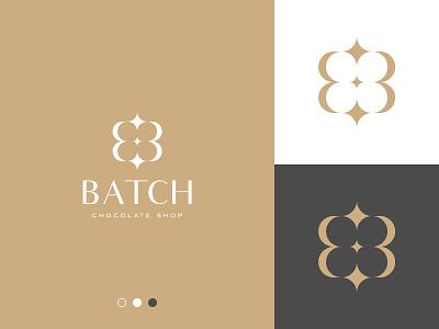 Batch Logo luxury logo simple logo elegant logo b letter logo b letter b logo brand branding gennady savinov logo design minimalistic logo symmetric modern minimalistic logo design geometric clean abstract