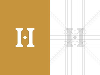 Ancient H Letter Logo h logo h letter logo professional logo buy logo logo for sale ancient h letter branding gennady savinov logo design minimalistic logo symmetric modern minimalistic logo design geometric clean abstract