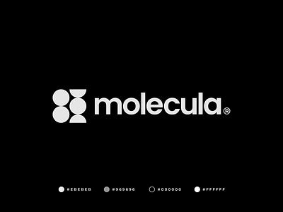 Molecula Logo brand identity simple circle graphic design branding professional minimal creative medical dna logo modern abstract logo design gennady savinov logo design geometric molecule