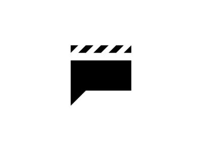 Cinema P Letter Logo