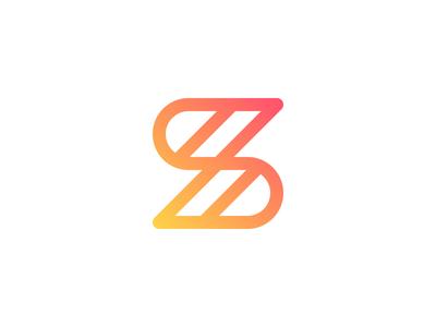 Flash S Letter Logo