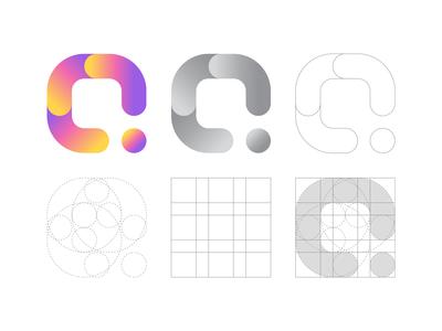 Q Letter Logo Grid