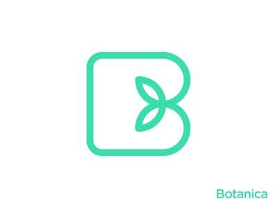 Natural B Letter Logo