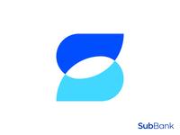 Overlapping S Letter Logo