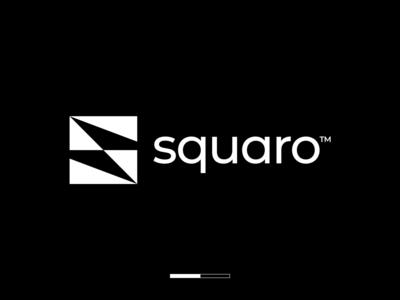 Square S Letter Logo