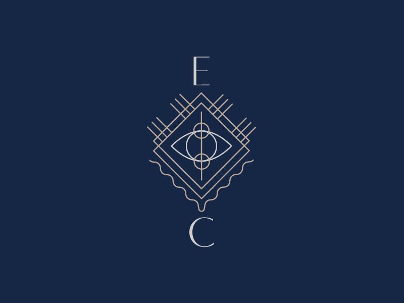 Explorers Club Society bar hotel society secret club explore logo wave sand sun crest