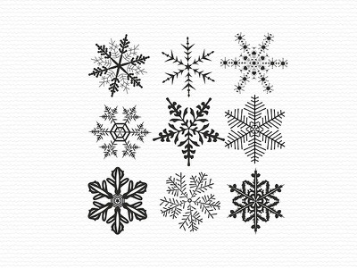 Winter Snowflakes sublimation new year christmas winter snowflakes embroidery digitizer embroidery digitizing embroidery design embroidery