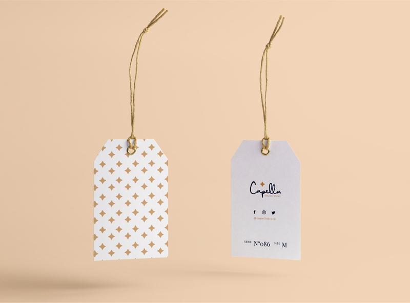 Capella Online Store fashion model shopping clothes shop woman etiquette online store online shop branding logotipo
