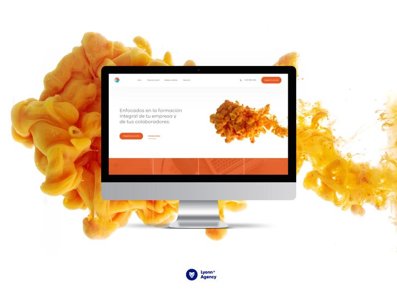 Página web Ensamble Estrategico web designer designer ejecutuve bussiness ux  ui website builder website agency development web design web