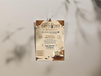 Poster design creative poster design méxico coffee agency illustration publicity cartel poster