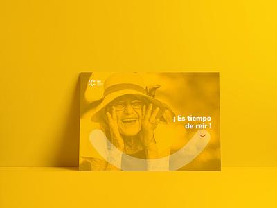 Postcard design for psychological clinic colorfull psychologist psychology clinic postal creative logo brand identity branding design