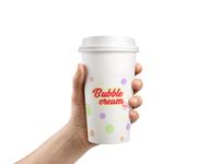 Dribble Bubble Cream Branding